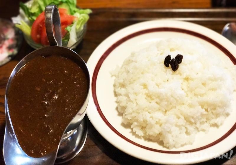 ハヤシライス(醬汁牛肉燉飯)660日元