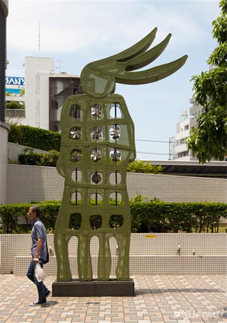 中目黑街道中的藝術1