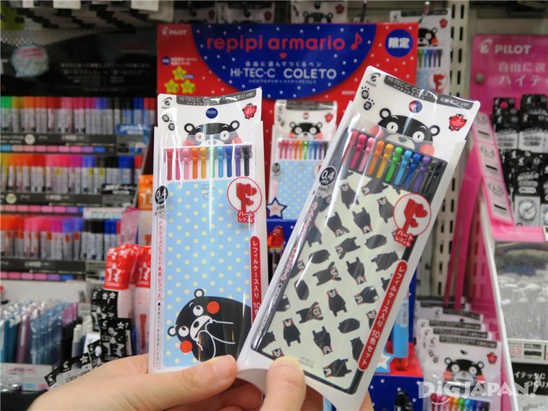 ปากกาสี HI-TEC-C COLET 10สี รุ่น Kumamon