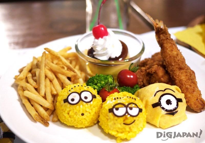 小黄人成群结队儿童套餐