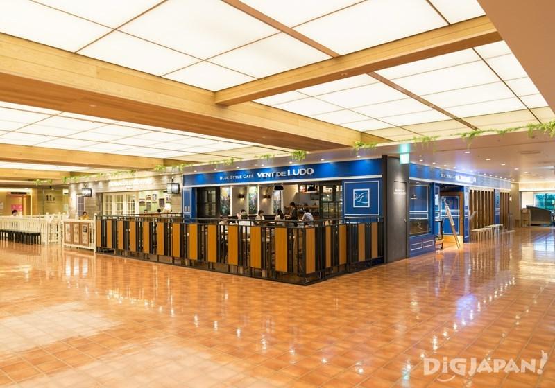 11樓餐廳寬闊的開放式空間