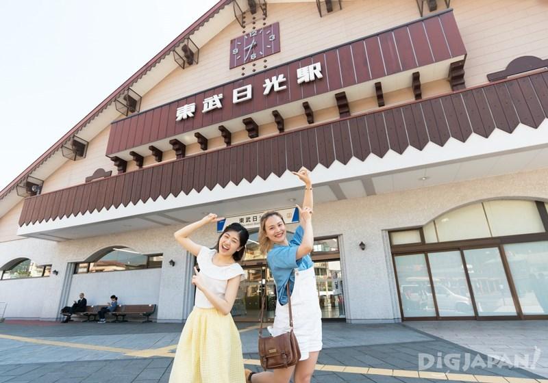 หน้าสถานี Tobu Nikko