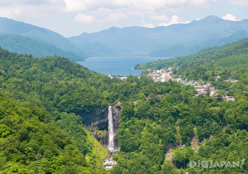 中禪寺湖和華嚴瀑布