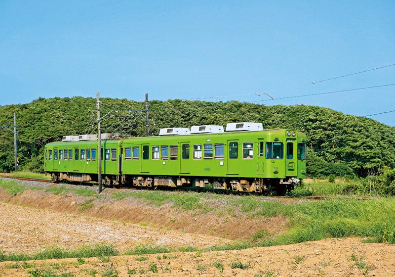 รถไฟ Choshi Denki Tetsudo