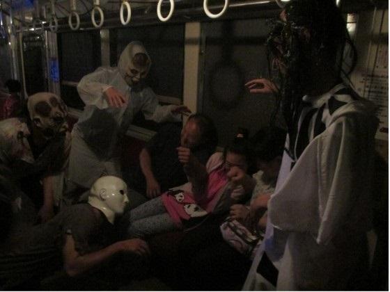Choshi Dentetsu's Spooky Ghost Train2