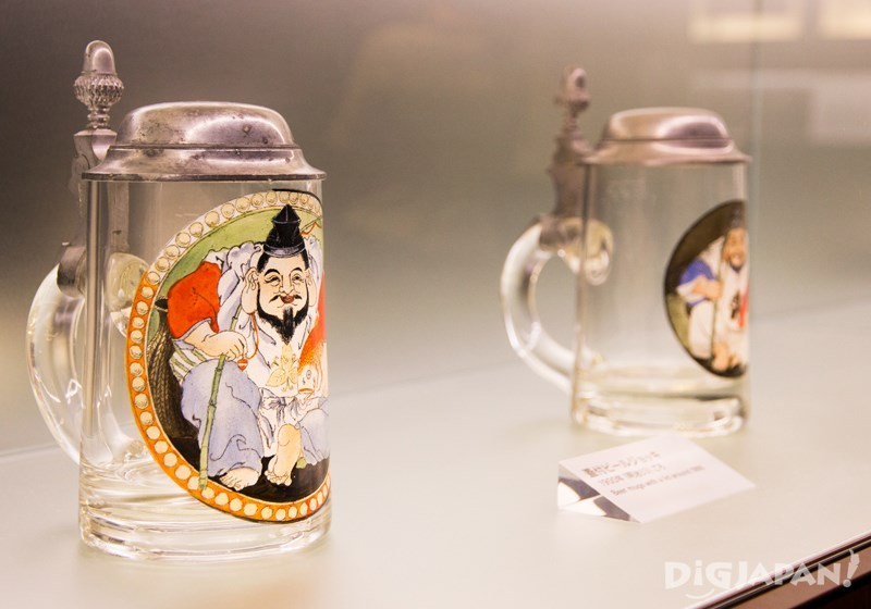 Yebisu beer mugs from 1900