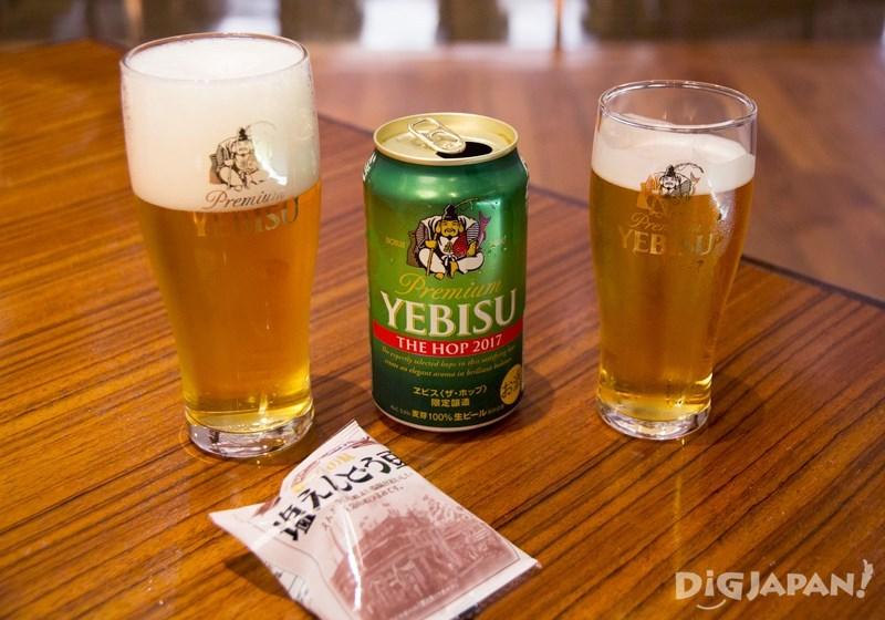 惠比寿啤酒试饮1