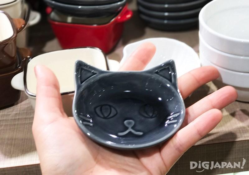 貓咪圖案小盤子