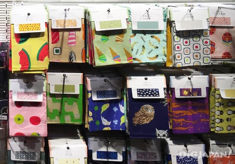 ผ้าเช็ดตัวสไตล์ญี่ปุ่น
