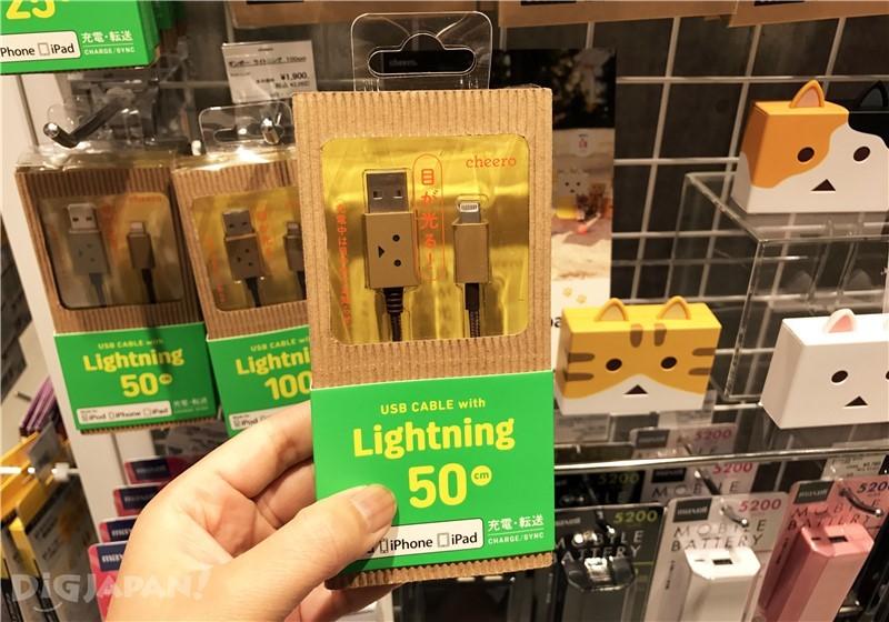 阿楞系列造型的USB线