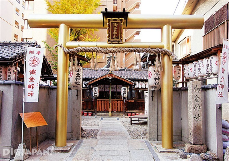 Mikane jinja shrine