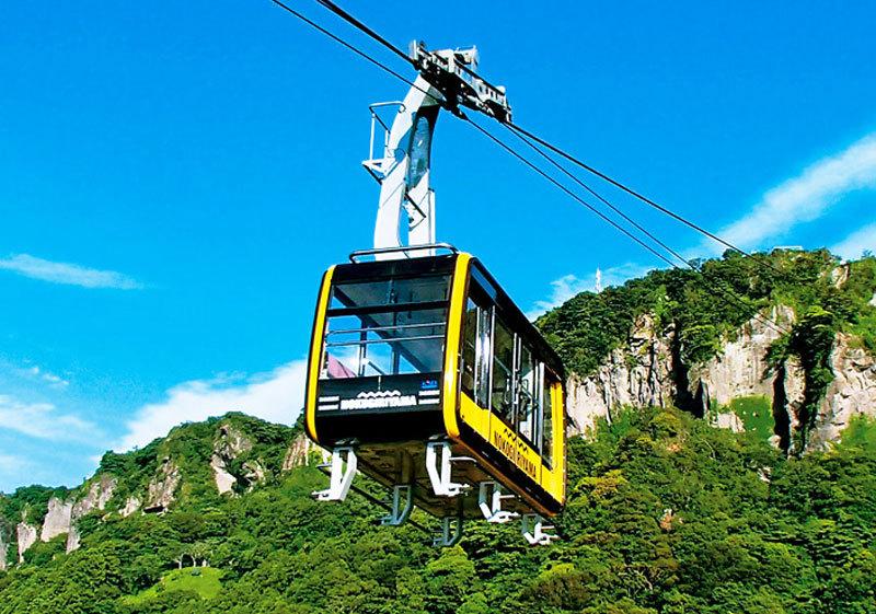 Rope way ภูเขาโนะโคะกิริ