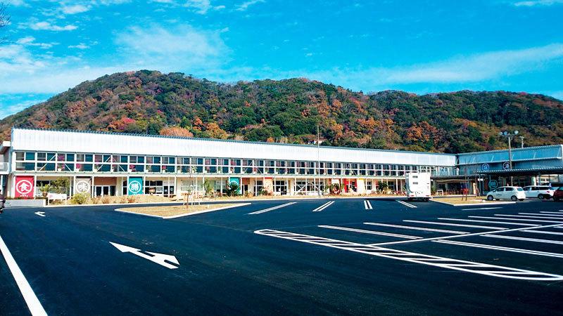 สถานีพักรถ มิชิโนะเอะคิ โฮะตะโชกักโค