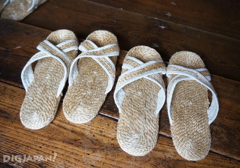 รองเท้าอยู่บ้านสไตล์ญี่ปุ่น