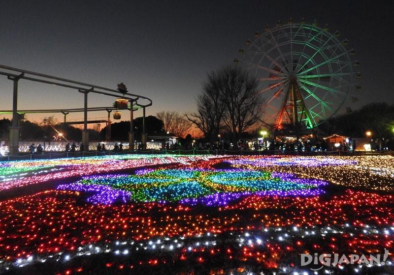 東武動物公園的彩燈