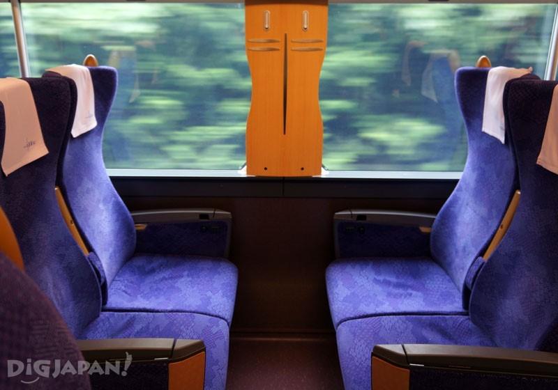 東武鐵道特急列車「Revaty」車內