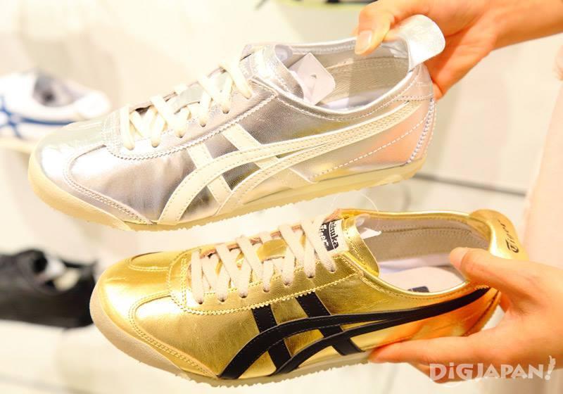 รองเท้าผ้าใบ Onitsuka Tiger เทา