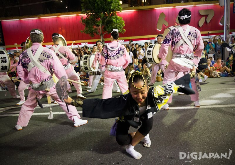 Dancing girl - Tokyo Koenji Awa Odori 2017