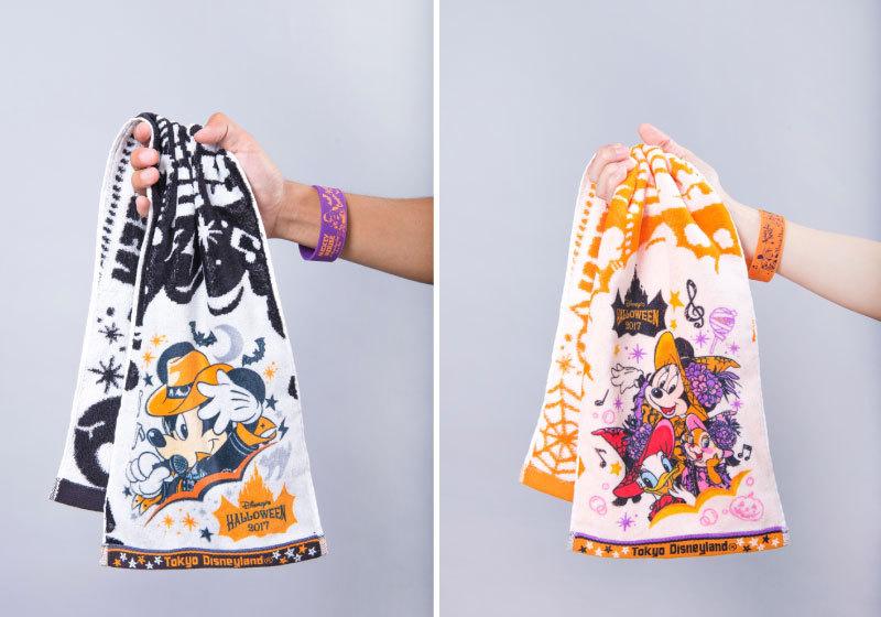 毛巾1,200日元;手環500日元(東京迪士尼樂園限定)