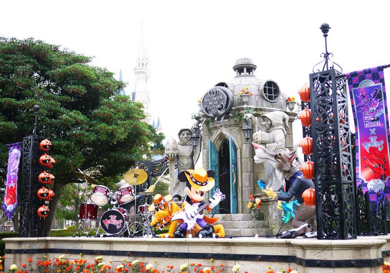 シンデレラ城の周辺の撮影スポット1
