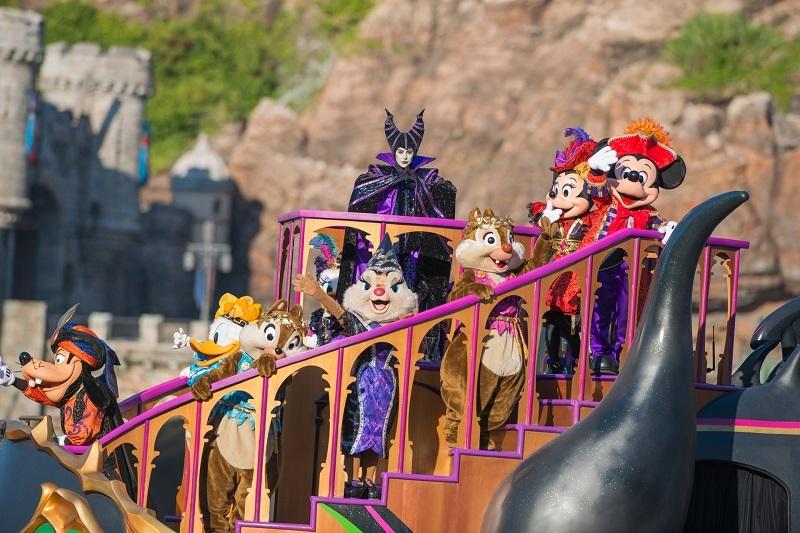 梅菲瑟和迪士尼明星們將活動推向最高潮