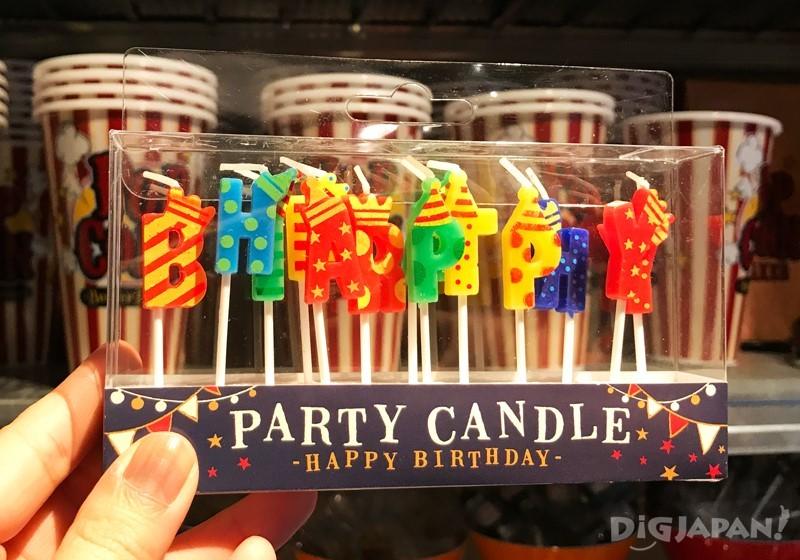 Party用的蠟燭