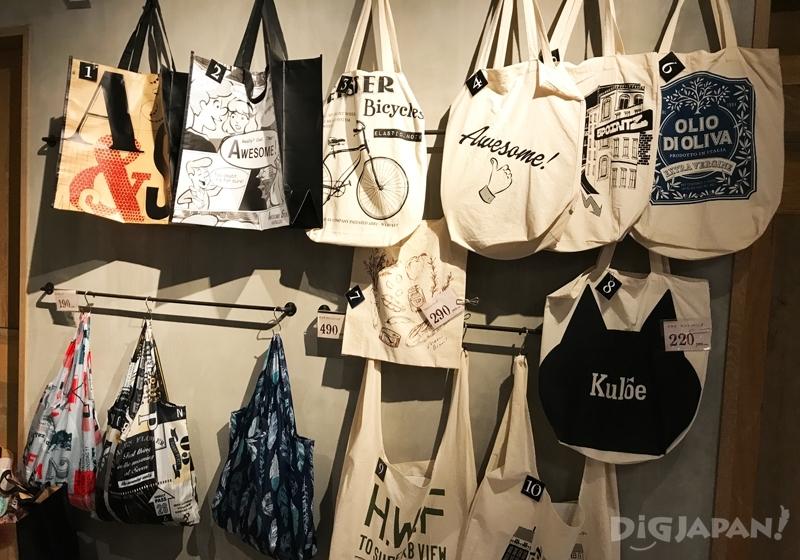 棉製的購物袋