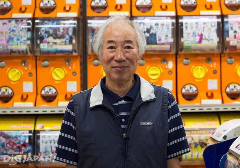 Owner of Akihabara Gachapon Kaikan - Tokyo