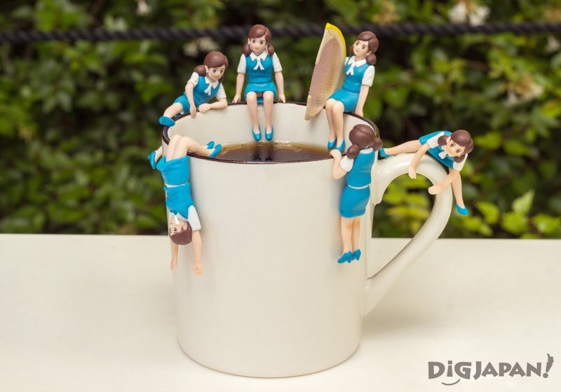 Fuchico on the Cup - Japanese gachapon