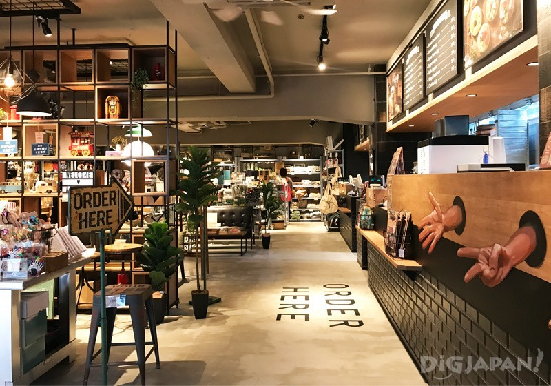 AWESOME STORE & CAFE點餐區1