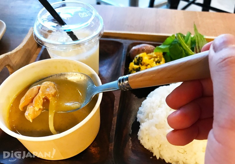 商業午餐的咖哩套餐2