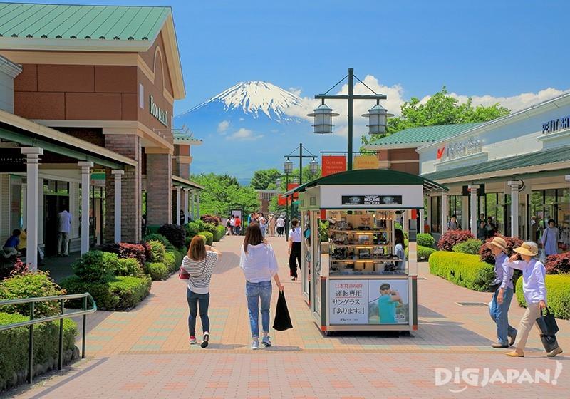 富士山が美しく見える