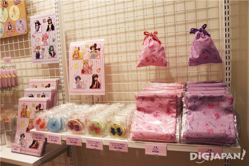 Sailor Moon Cafe 2017商店區域