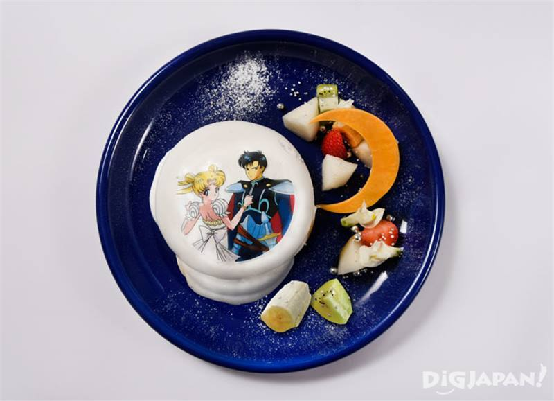 แพนเค้ก silver millennium กับรักนิรันดร์ของเขาทั้งสอง