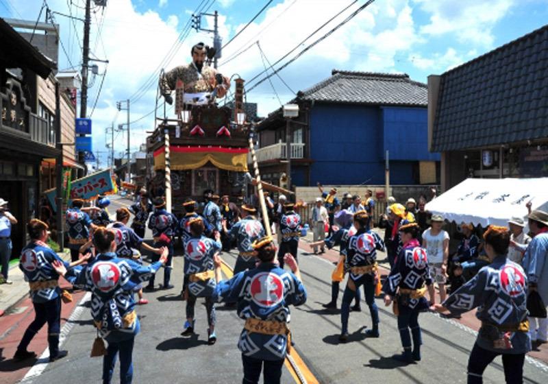 Sawara's grand festival