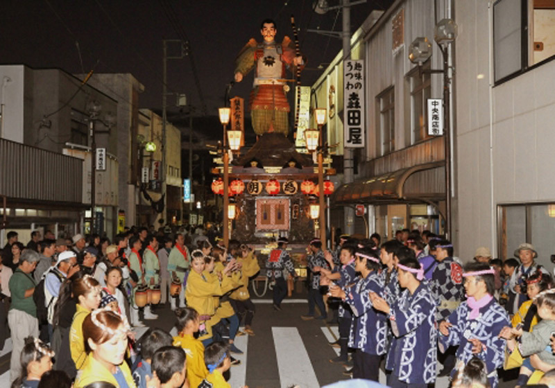 Sawara's grand festival, Unesco-Certified Intangible Cultural Heritage