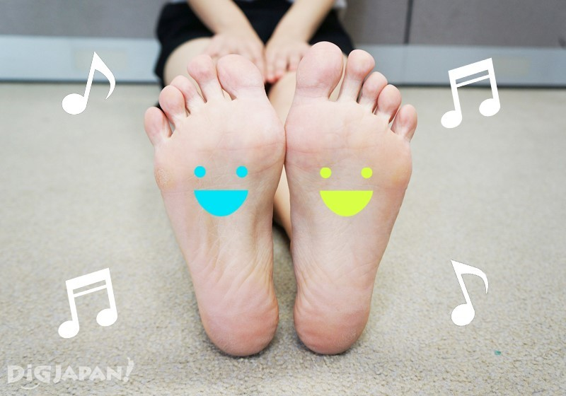 從腳底到腿部都放鬆許多,感覺好輕盈