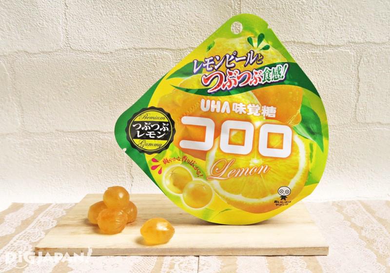 季節限定の コロロ つぶつぶレモン味