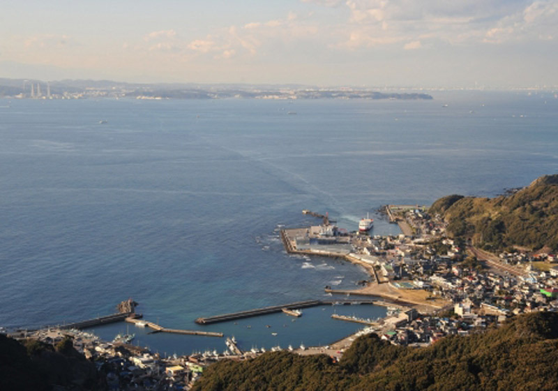 วิวทิวทัศน์จากภูเขา Mt. Nokogiri