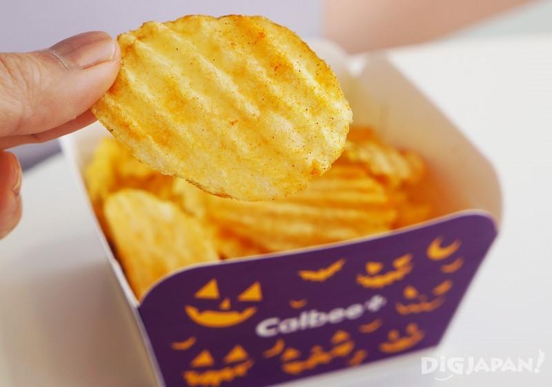 原宿店限定 現炸香辣口味洋芋片