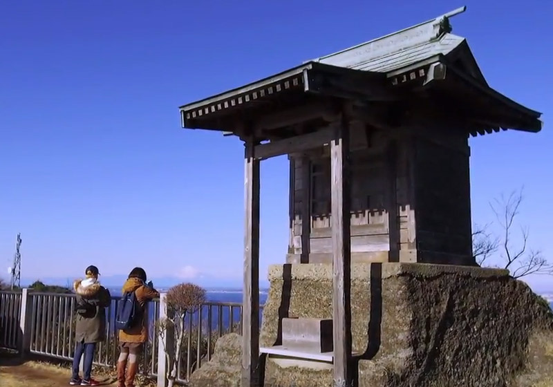 แนะนำเส้นทางเดินเขา Nokogiriyama2