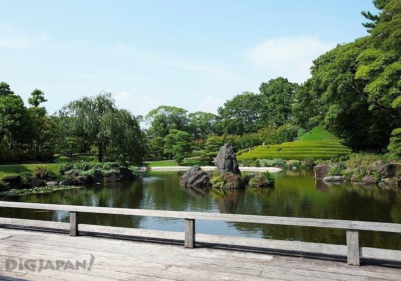 骏府城公园内的日本庭园