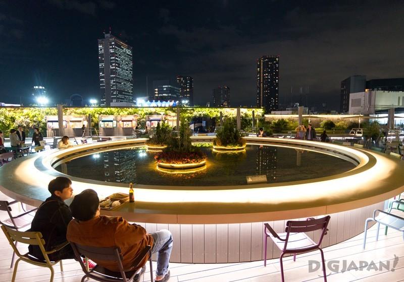 西武池袋本店9樓屋頂的「食和綠的空中庭園」