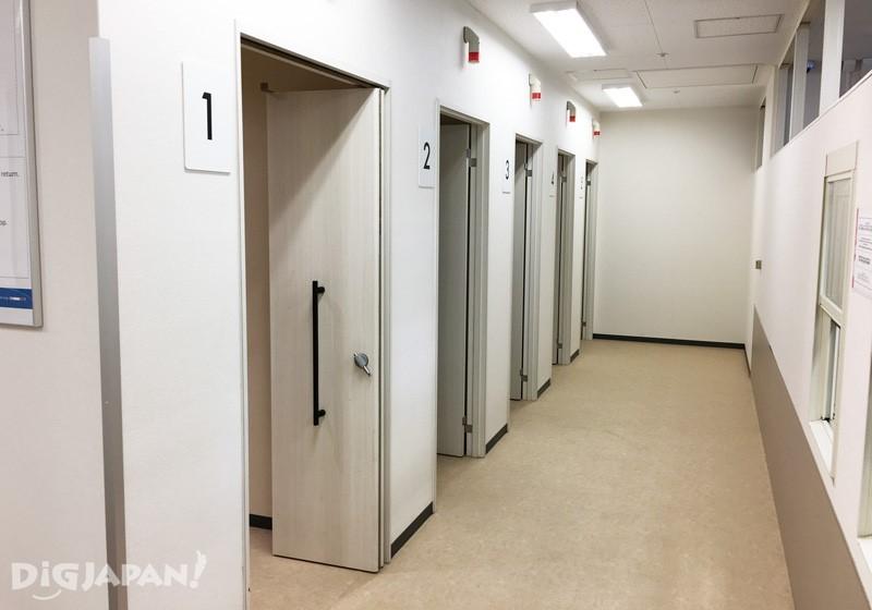 エアロプラザ2階シャワールーム