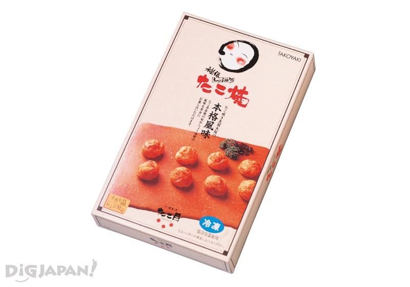 酱油味章鱼焼1080日元(14个装)