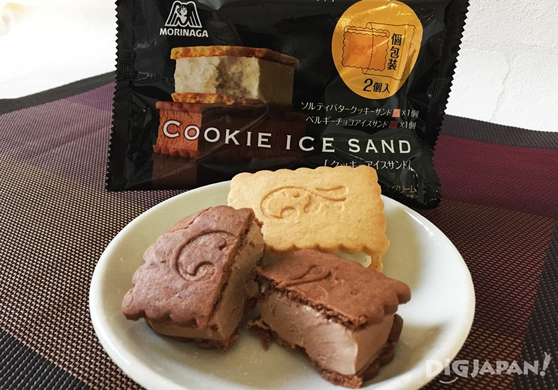 COOKIE ICE SAND斷面