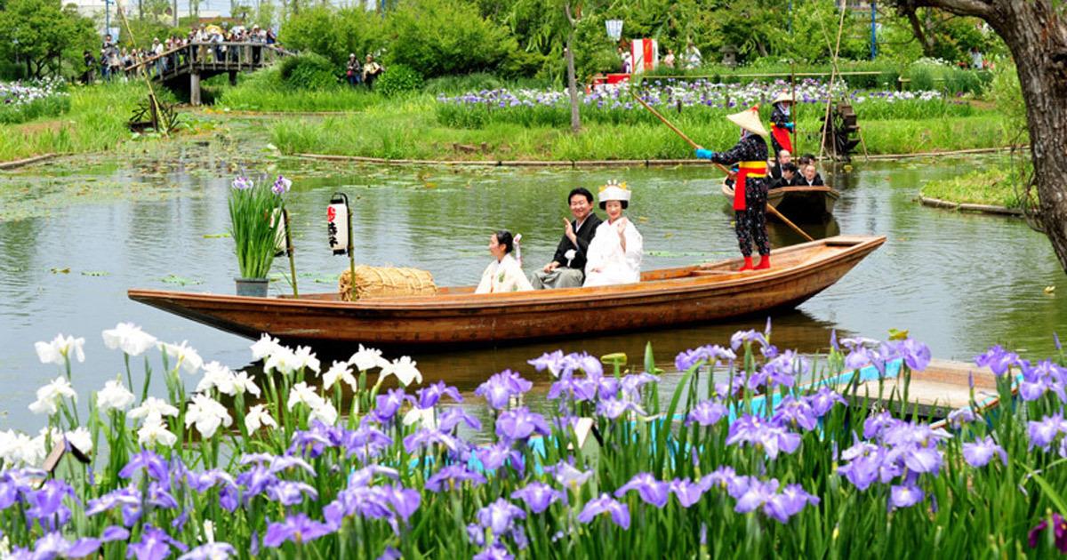 [SAWARA] Encounter Japanese wa at little edo sawara and katori-jingu shrine route