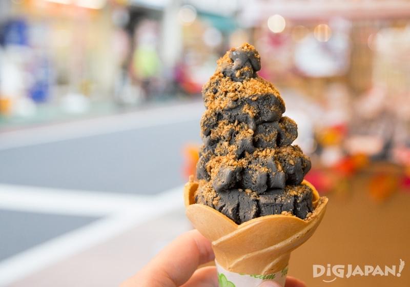 黑芝麻豆乳冰淇淋 380日元
