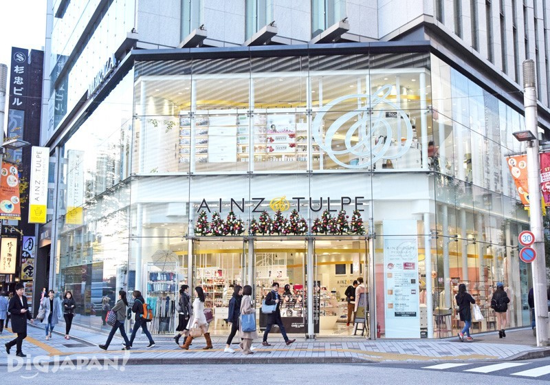 AINZ&TULPE新宿東口店 外観