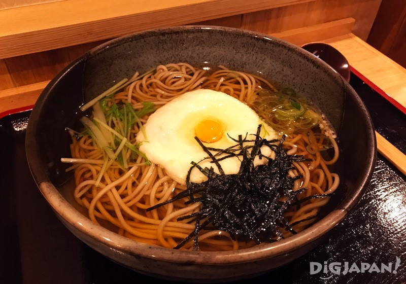 Tororo soba on Mount Takao